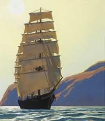 Clipper Ship  A